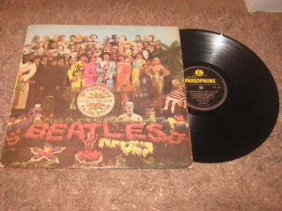 The Beatles  -  Sgt Peppers  Lp  Pmc 7027