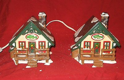 "Department 56 The Original Snow Village ""Fisherman's Nook Cabins""  # 56-5461-5"