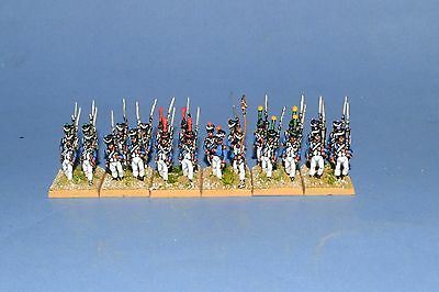 15mm Napoleonic painted French Late Fusilier Battalion Fr015-4