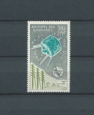 Comores - 1965 Yt 14 Pa - Timbre Neuf** Mnh Luxe