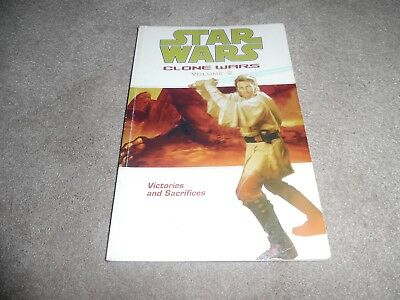 Star Wars CLONE WARS  graphic novel volume 2 VICTORIES AND SACRIFICES