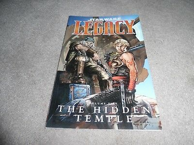 Star Wars LEGACY graphic novel volume five THE HIDDEN TEMPLE