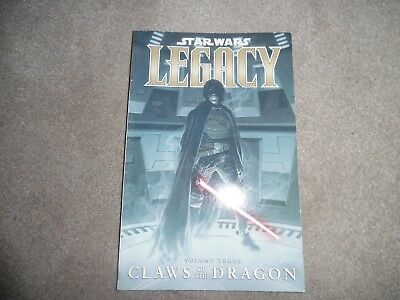 Star Wars LEGACY graphic novel volume three CLAWS OF THE DRAGON
