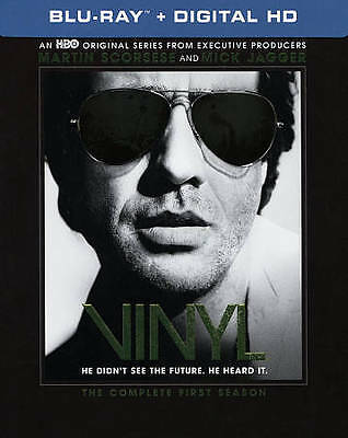 Vinyl : The Complete First Season (Blu-ray Disc, NEW, 2016, 4-Disc Set)