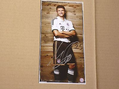 Thomas Müller  Signed Bayern Munich Card / Germany