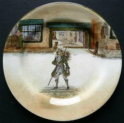 ROYAL DOULTON DICKENS WARE PLATE depicting 'BARNABY RUDGE'