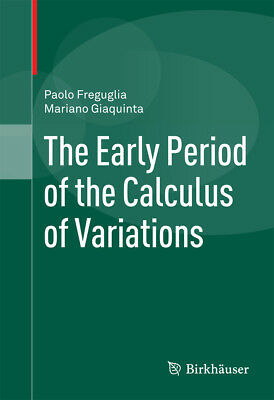 The Early Period of the Calculus of Variations, Paolo Freguglia