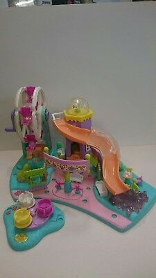 Polly Pocket Rides n Surprises fun fair. 1996. Slight damage, no people.