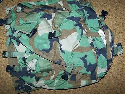 Combat Patrol Backpack, Cfp-90 Top Pack, Woodland Camo, U.s. Issue *nice*