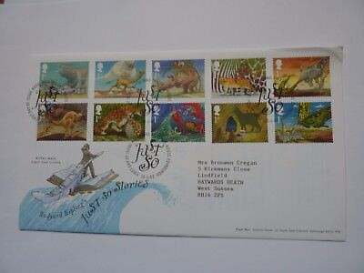 Just So Stories 2002 FDC