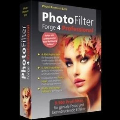 Photo Filter Forge 4 Professional/CD-ROM