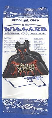 Dio Last In Line cutout vintage 1980s iron-on/sew-on PATCH