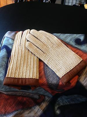 Suede Knitted Driving Gloves Mod Skin Suedehead