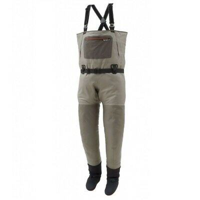 SALE Simms G3 Guide Stockingfoot Waders Greystone LS NEW FREE SHIPPING