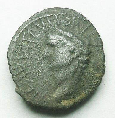 Claudius I Barbarous Barbaric Imitation Ae As (94Y)