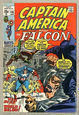 Captain America (1968 1st Series) #136 VF 8.0