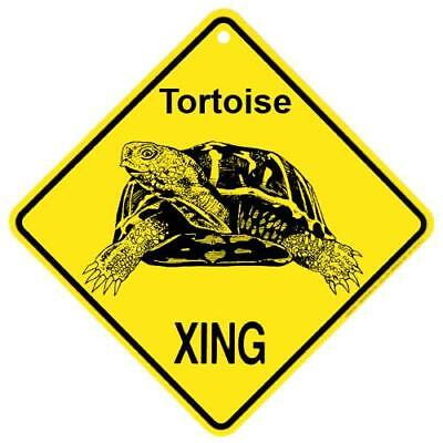 Tortoise Crossing Xing Sign New Turtle