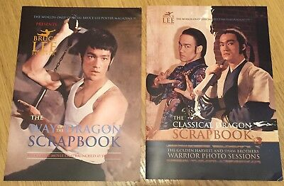 Bruce Lee Rare Magazines And Flier Japanese