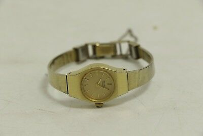 SEIKO Ladies Watch with gold metal wrist band (SL19)