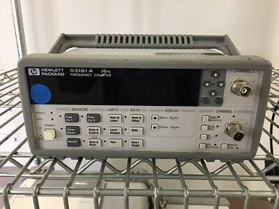 HP 53181A 3 GHz Frequency Counter