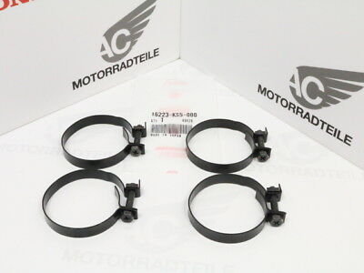 Honda XR 200 250 350 500 600 band set insulator carburetor black original