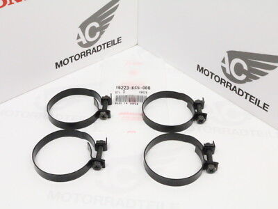 Honda VF VFR 500 700 750 1000 band set insulator carburetor black original