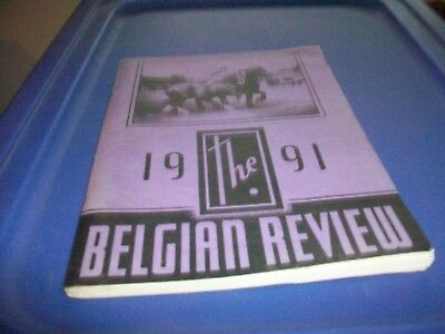1991 The Belgian Revfiew Soft Cover Book -25