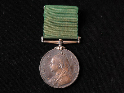 Volunteer Force LSGC Medal QV, unnamed as issued.