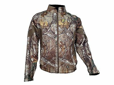 1265 ScentBlocker Knockout Jacket Xtra Camo, Size Large
