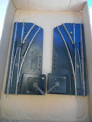 American Flyer S Gauge Maual Switch Pair
