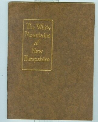 1915 Boston & Maine Railroad, The White Mountains with Map