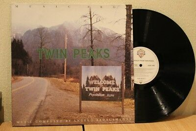 Music From Twin Peaks 1990 Warner Brothers Lp Ex+