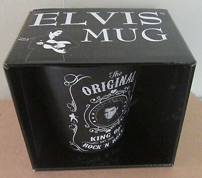 *ELVIS PRESLEY* MUG IN A PRESENTATION BOX (Brand New)