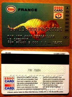 Carte Personnalisee - Esso Card - 12/00