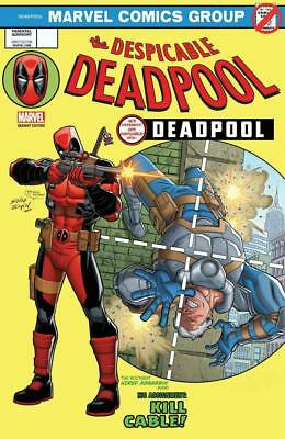 Despicable Deadpool #287 Lenticular Variant Homage Amazing Spider-Man #129