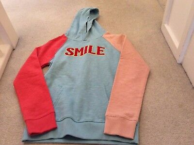 Mini Boden / Jonnie B girls hoodie, Smile - size 11-12 years BNWOT