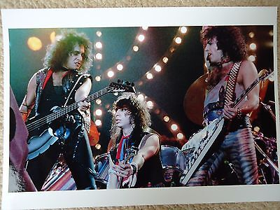 Kiss Photo 1983 Unique Photo Unreleased Huge 12 Inch Gem Exclusive Image 34Yrs
