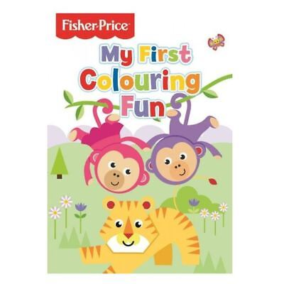 Fisher Price My First Colouring Fun Book Activity Kids Childrens Book