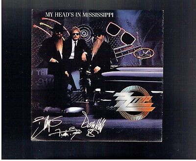 Zz Top My Head's In Mississippi Ps 45 1991