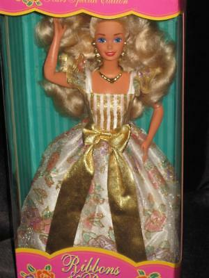 1994 RIBBON & ROSES Blonde Barbie Doll  Sears Exclusive #13911 NRFB