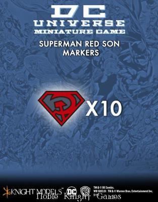 Knight Models DC Universe Figure Markers - Superman Red Son MINT