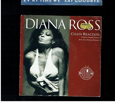 Diana Ross Chain Reaction/one Shining Moment Ps 45