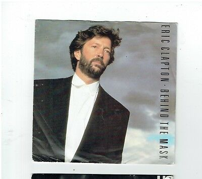Eric Clapton Behind The Mask  Ps 45 1987