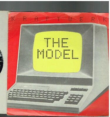 Kraftwerk The Model Ps 45 1981