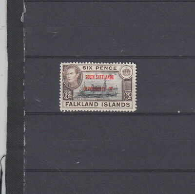 A very nice old unused South Shetlands George 6d issue