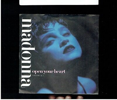 Madonna Open Your Heart Ps 45 1986