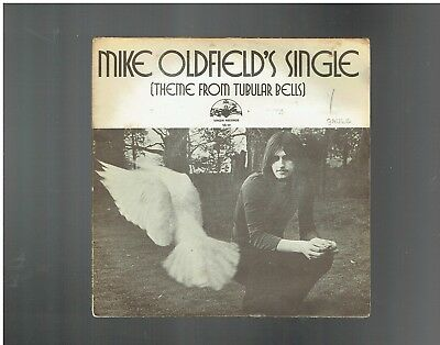 Mike Oldfield's Single Theme From Tubular Bells Ps 45 Virgin Vs 101 1974