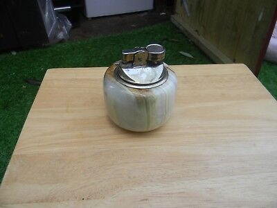 small onyx table lighter working