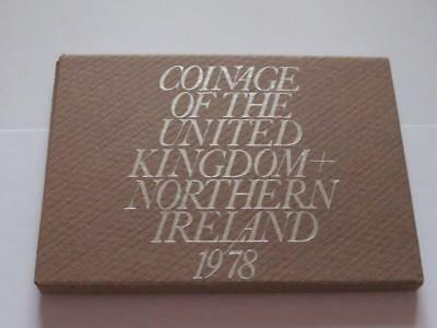 Royal Mint BUNC Coin Set 1978 - Nice collectable 6 coin Set in good condition