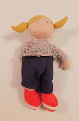 Moulin Roty Suzanne doll Stoffpuppe Puppe Stofftier Spielpuppe Spielzeug 11 Zoll